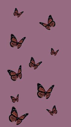 Butterfly Wallpaper Iphone, Pastel Iphone Wallpaper, Iphone Background Wallpaper, Retro Wallpaper, Galaxy Wallpaper, Colorful Wallpaper, Aesthetic Backgrounds, Aesthetic Iphone Wallpaper, Aesthetic Wallpapers