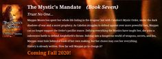 The back cover copy for my upcoming new release is available now on my website! Check out the series and catch up on the story. The Mystic's Mandate launches this fall!