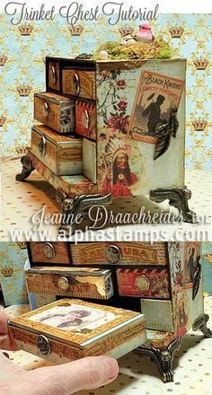 Alpha Stamps News » Tinket Chest Tutorial, Ornament Swap, Sale & Giveaway!
