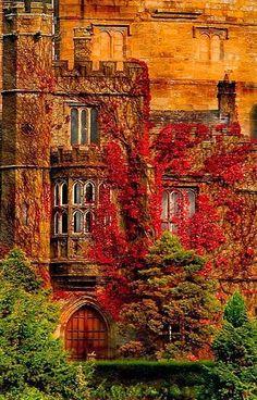 Hornby Castle, Lune Valley, Lancashire, England