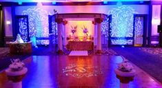 Looking for ways to personalize your event? Put your names in lights with monogram lighting! Diy Wedding Backdrop, Diy Backdrop, Backdrops, Wedding Decorations, Indian Wedding Planning, Wedding Planning Tips, Purple Wedding, Wedding Colors, Uplighting Wedding