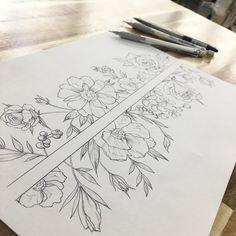 91ff47d538409f88541a07657a3603c8--flower-arm-band-tattoo-flower-tattoos.jpg (736×736)