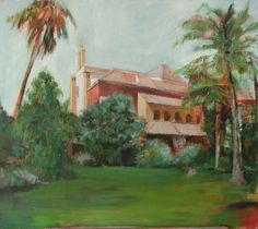 Acrilico/Lienzo Painting, Art, Canvases, Gardens, Art Background, Painting Art, Kunst, Paintings, Performing Arts