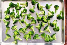 Best Roasted Broccoli  www.SimplyScratch.com salt