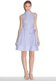 Sleeveless Shirtdress  $250.00$99.99