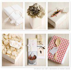 Μαγειρική(&)Τέχνη!: Ιδέες για περιτύλιγμα δώρων / Gift Wrapping Ideas !