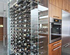 Wine Cellar, Ocean, View, Decor, Design, Modern, Vin de Garde
