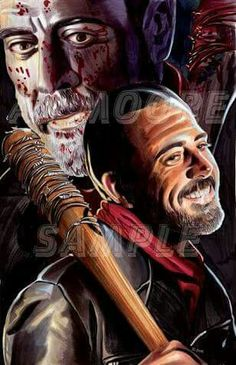 Negan ----- Telltale Games and AMC's The Walking Dead