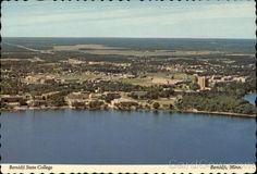 Aerial View of State College Bemidji Minnesota