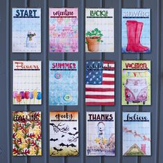 2016 Calendar: wall wire-bound hanging large by TodaysSpecialUSA