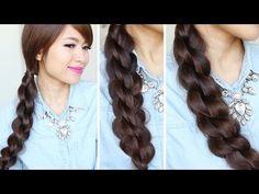 Bebexo Hairstyles- 3D Split Twist Braid. Cute, simple and easy- a must try!