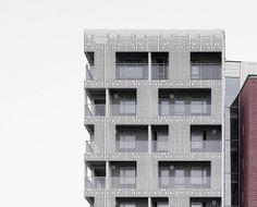 Fibre reinforced concrete facade cladding - ÖKO SKIN - Rieder Smart Elements GmbH