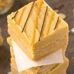 Healthy No Bake Peanut Butter Breakfast Blondies