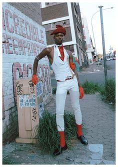 Youth and pop culture provocateurs since Fearless fashion, music, art, film, politics and ideas from today's bleeding edge. Afro Punk Fashion, Queer Fashion, High Fashion, Jojo Fashion, David Bowie Fashion, Romeo Y Julieta, Raining Men, Poses, Black Boys