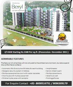 Kolte Patil Downtown Beryl- Pune Location: Kharadi Sizes: 1055-1545 Sq Ft Plans: 2 & 3 BHK  For More Info:- http://www.allcheckdeals.com/project-kolte-patil-downtown-beryl-pune.php