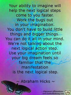 Abraham-Hicks quote.