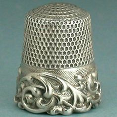 Antique Louis XV Band Sterling Silver Thimble by Ketcham McDougall C1890s | eBay