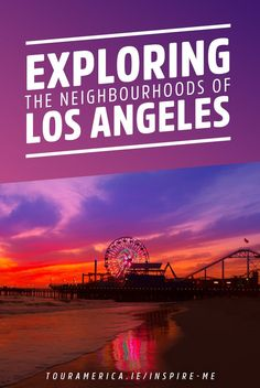 Exploring the neighbourhoods of Los Angeles. Check out our must visit LA neighbourhoods including Venice Beach, Santa Monica and West Hollywood! Usa Travel, Travel Tips, Los Angeles Neighborhoods, Venice Beach, California Travel, West Hollywood, Santa Monica, Inspire Me, Exploring