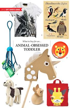 LMNOP's 2012 Gift Giver's Guide: What to buy for an Animal-Obsessed Toddler.