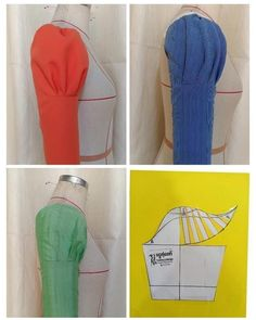 Sewing Purses And Bags Colour Ideas Kurti Sleeves Design, Sleeves Designs For Dresses, Sleeve Designs, Dresses With Sleeves, Dress Sewing Patterns, Blouse Patterns, Blouse Designs, Pattern Sewing, Bag Patterns