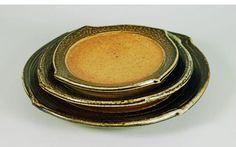 Micki Schloessingk | Wood-fired, salt-glazed, stoneware tableware (2011).