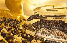 Philharmonie de Paris - The Philharmonie de Paris is the new musical heart of the capital. The new building was designed by architect Jean Nouvel. Beside...