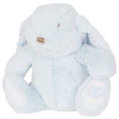 Augustin the rabbit - blue soft toy