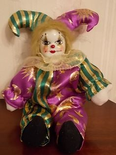 88 Best Porcelain Face Hand Clown Dolls Images Clowns