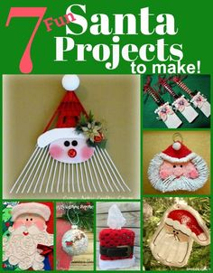 7 Cute Santa Themed Projects
