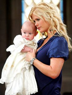 Sami Brady with daughter Sydney DiMera