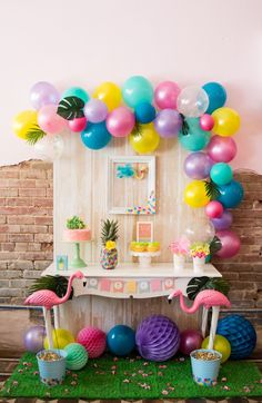 festa-tropical-infantil-tema-flamingo-candy-8