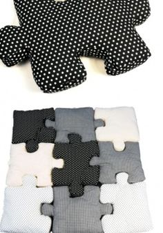 Jigsaw puzzle pillow pillow pillow