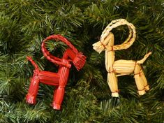 Swedish straw goats