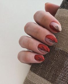 Amazing But Easy Nail Art Designs You Can't Afford To Miss – Secrets de Beauté Minimalist Nails, Simple Nail Art Designs, Easy Nail Art, Nail Tip Designs, Short Nail Designs, Fall Nail Designs, Stylish Nails, Trendy Nails, Perfect Nails