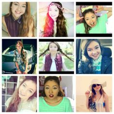 I LOVE her! She makes the best videos and she is so funny! And has an awesome style:)