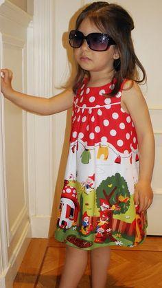 La pequeña aprendiz: Vestido Gnomeville