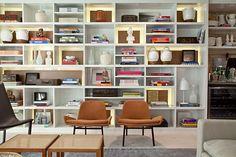 Click Interiores   Estantes de Livros no Living ? SIM