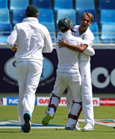 Pakistan vs South Africa 2nd Test Day 1  Imran Tahir accomplished his first 5 wicket haul and crushed Pakistan fragile batting line with tremendous spin bowling.   http://cricxpert.com/pakistan-vs-south-africa/pakistan-vs-south-africa-2nd-test-day-1-highlights-imran-tahir-5-wickets/