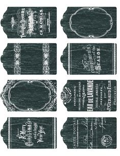 Lilac & Lavender: Printable Chalkboard tags, labels, and more!