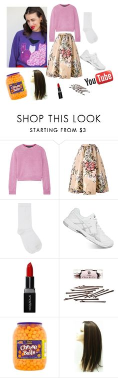 """""""HATERS BACK OFF/Miranda sings show"""" by littleangel66 ❤ liked on Polyvore featuring The Elder Statesman, Fendi, M&Co, Asics, Smashbox, L. Erickson and UTZ"""