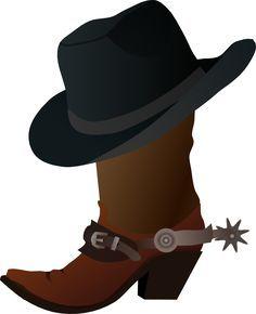 cowboy boot clip art for svg file cricut svg cowboy rh pinterest com au clipart cowboy boots and hat clipart girl cowboy boots