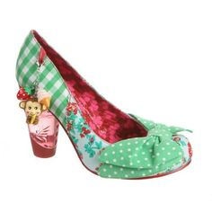 Irregular Choice Trinkletina Charmed High Heel Ladies Pump, Green White, 9 M US Women Irregular Choice, http://www.amazon.com/dp/B004P4S7C0/ref=cm_sw_r_pi_dp_grS7qb1T1JJ0B