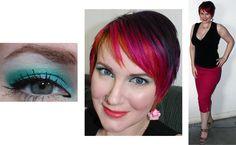 Sugarpill Darling Cat Eye #crueltyfree #beauty #makeup #turquoise #teal