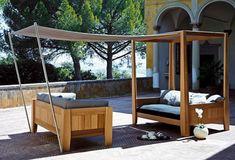 AuBergewohnlich Outdoor Sofa Mit Baldachin Erweiterung Von Exteta   Die Kitando Kollektion