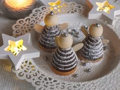cukrovi2 Christmas Sweets, Christmas Candy, Christmas Baking, Xmas, Serbian Recipes, Czech Recipes, Chicken And Butternut Squash, Polish Recipes, Holiday Cookies