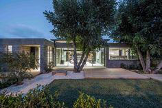 Tamar Jacobs and Oshri Yaniv of Jacobs-Yaniv Architects have designed a new home for themselves and their children in Herzliya, Israel, that took about 6 years from design to completion.