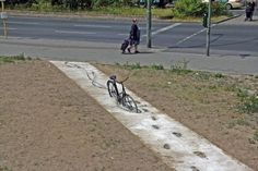 funny pictures, bicycl, street art, funny stuff, art installations