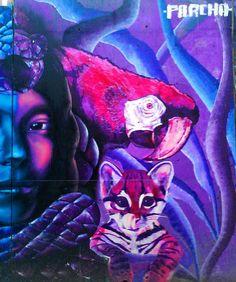 "Process ""Ayahuasca"" collaboration Ft. Parcha (Red side) #StreetArt #Art #Parcha #Ayahuasca #Avedelasabiduria #bird #muralism #Art #Arte #graffiti #Selva #Disciplina #Spray #spraypaint #sprayart #Spraycan #streetart #muralism #Paint #urbanart #instagraffiti #bestartpage #artfido #artistsdrop #artistsoninstagram #artist_unity_ #artist_discover #globalstreetart #artist_showcase #Pinterest #Jech #TheArtOfJech"