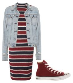 """Untitled #182"" by mrub1128 ❤ liked on Polyvore featuring Dorothy Perkins, rag & bone and Converse"