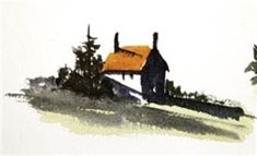 Painting Shadows in Watercolour